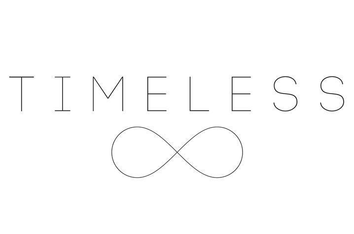 """logo for """"Timeless"""""""