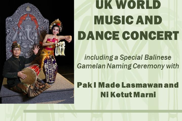 photo of UK World Music and Dance concert poster