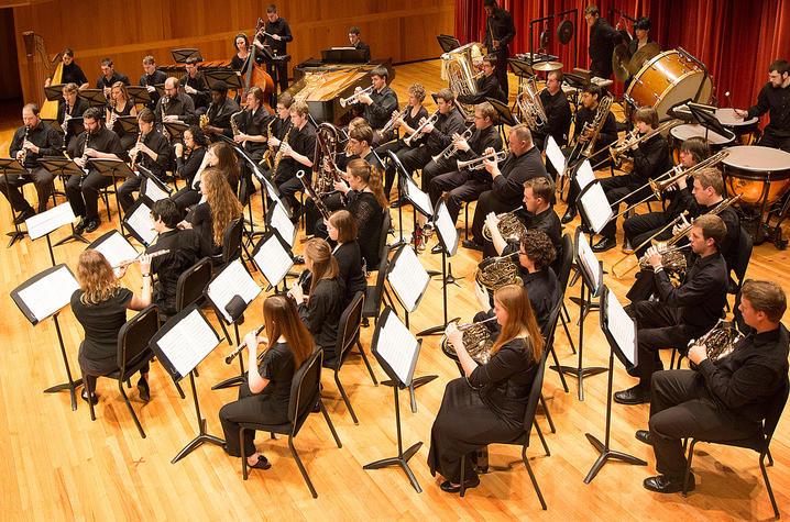 photo University of Louisville Wind Ensemble