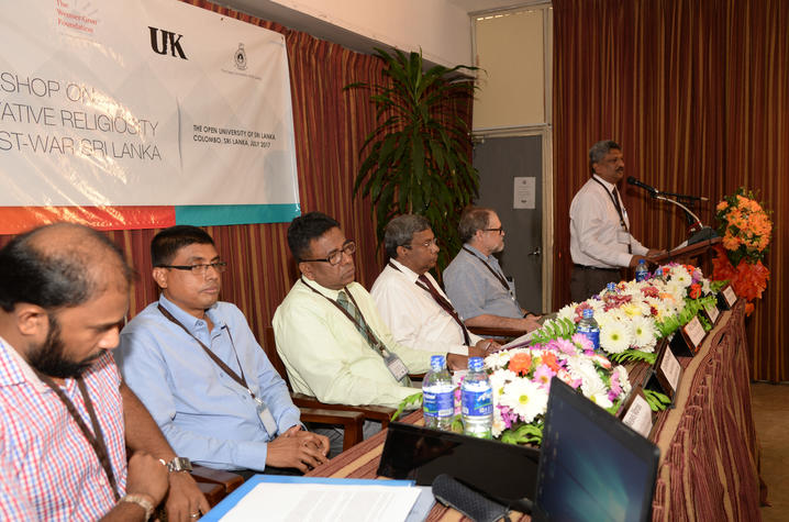 Grants from National Science Foundation and the Wenner-Gren Foundation Supported the Sri Lanka conference
