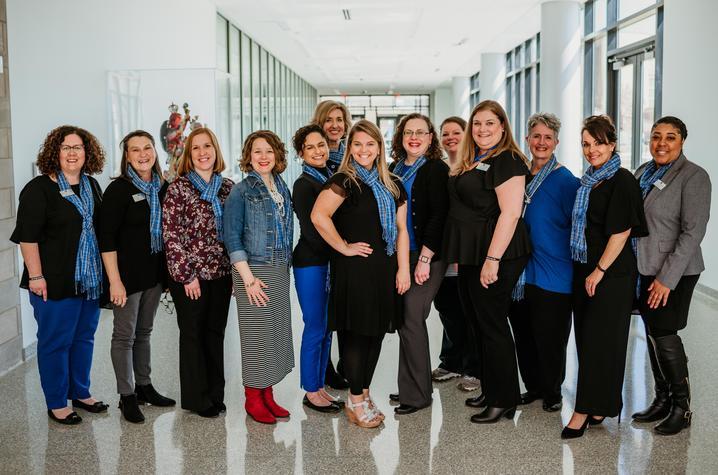 photo of current UK Women's Forum Board members