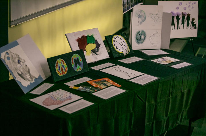 photo of art table