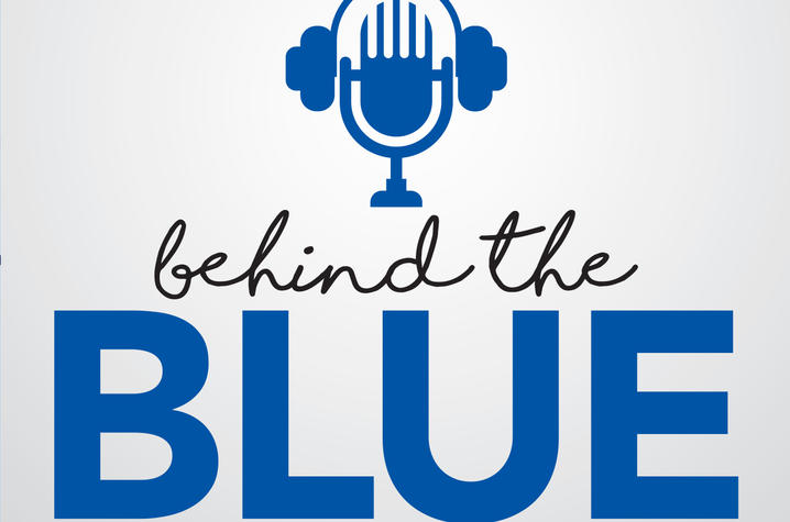 Behind the Blue logo