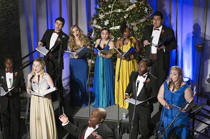 "photo of opera students singing at ""Celebration of Song"" 2016"