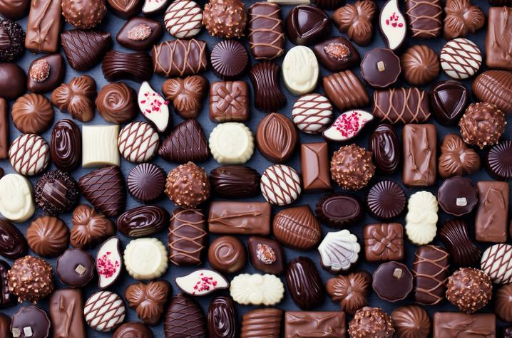 photo of chocolate candies