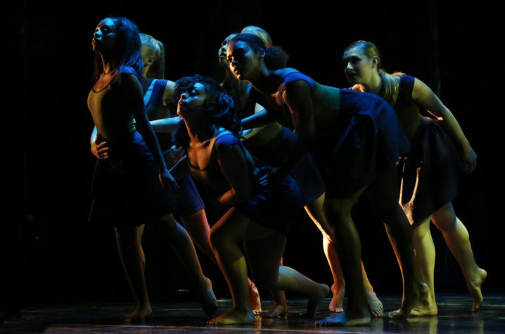 photo of dance performance at GSA