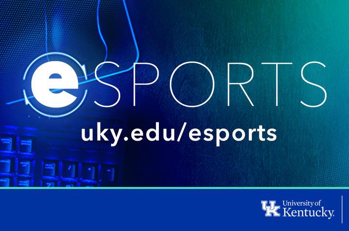 graphic that says esports - uky.edu/esports