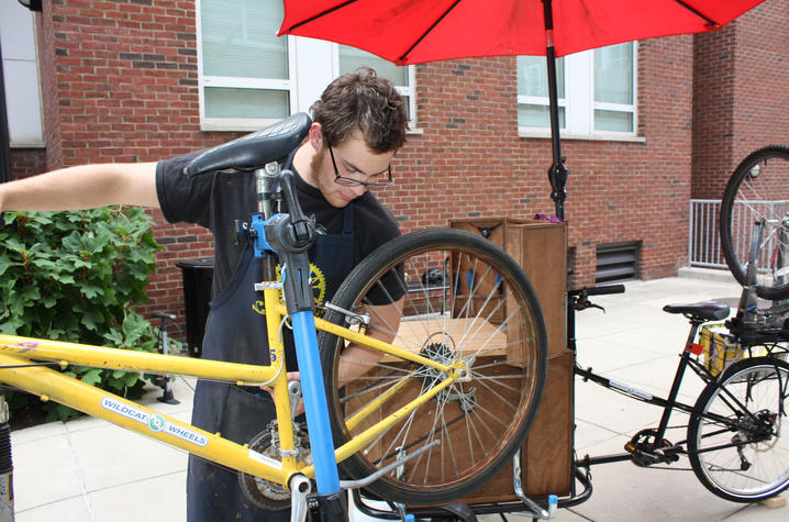 New Bike Repair Shop Rolls Out | UKNow