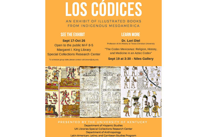 """photo of poster of """"Los Codices"""""""