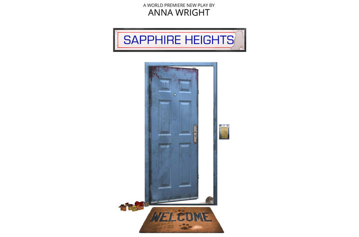 """poster for """"Sapphire Heights"""""""