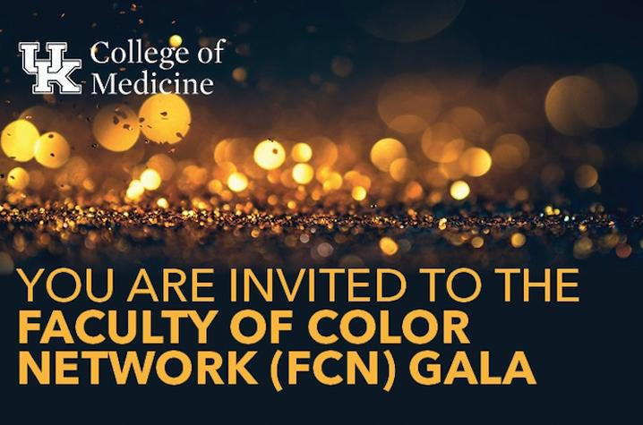 Graphic of gala invitation