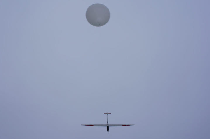 photo of HiDRON glider