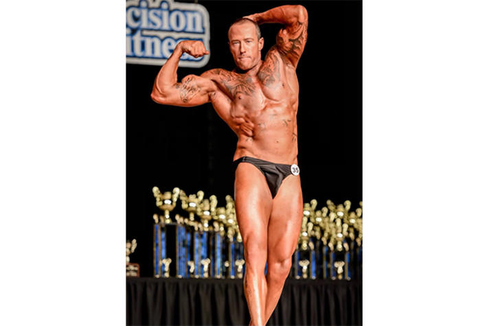 image of bodybuilder at competition