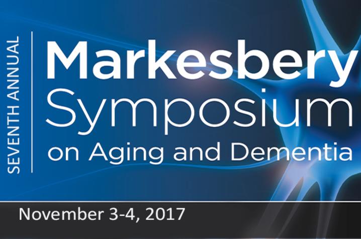 Photo of Markesbery Symposium logo