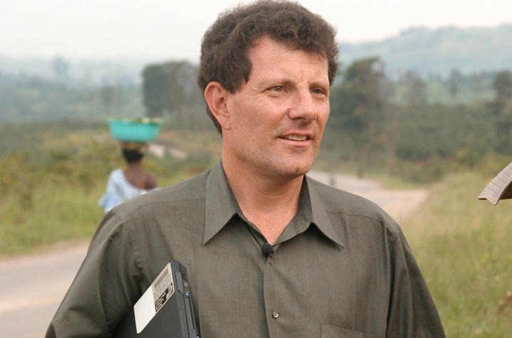 New York Times columnist Nicholas Kristof, two-time Pulitzer Prize winner