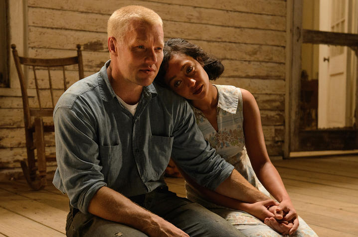 Actors portray Richard and Mildred Loving, whose marriage was determined unlawful by the state of Virginia. That ruling was overturned by the Supreme Court in 1967. The Court also declared couples had the freedom to marry, regardless of race.