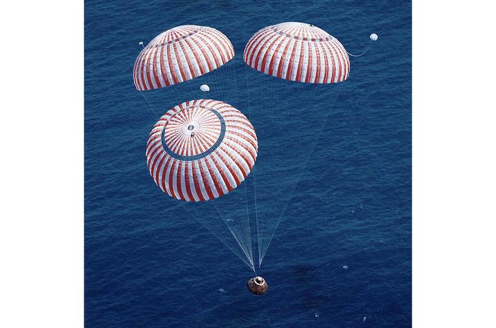 photo of parachutes