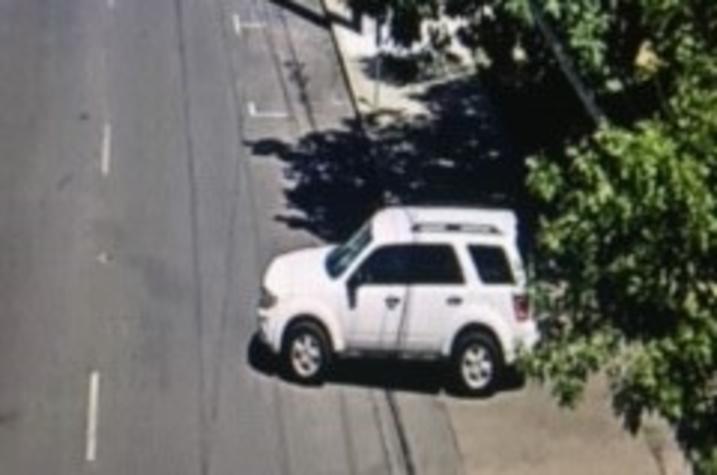 photo of white SUV