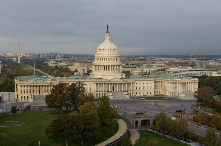 photo of restored U.S. Capitol dome