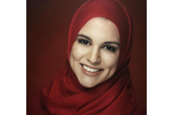 Headshot of Amani Shalash.