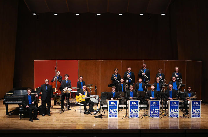 photo of 2018 UK Jazz Ensemble
