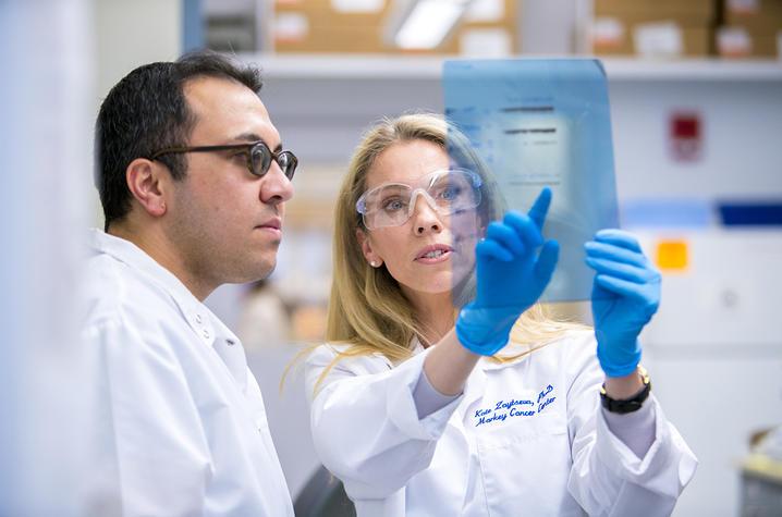 Kate Zaytseva lab team