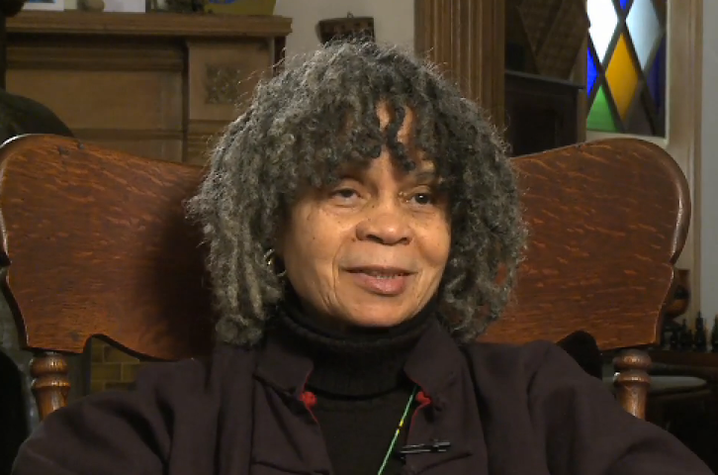 "still photo from ""BaddDDD Sonia Sanchez"" documentary"
