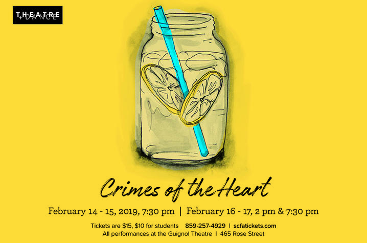 "photo of web banner for ""Crimes of the Heart"""