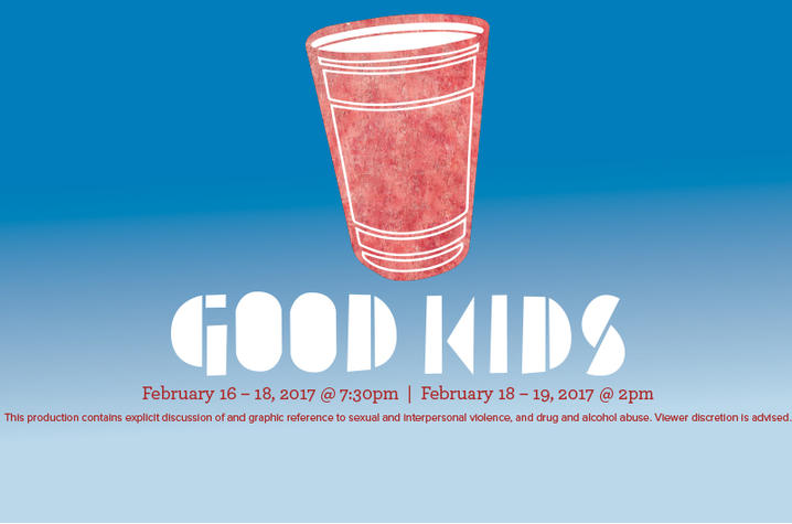 "photo of poster art for UK Theatre's ""Good Kids"""