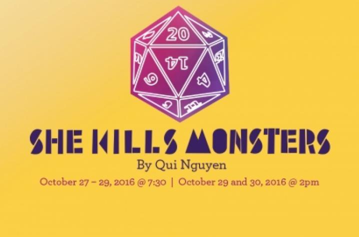 """""""She Kills Monsters"""" artwork"""