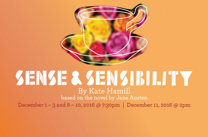 """web art for UK Theatre's 2016 production of """"Sense and Sensibility"""""""