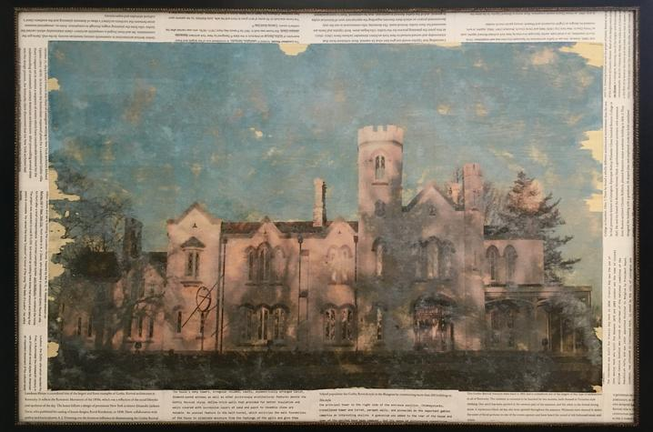 photo of unnamed piece depicting Loudoun House by Rhylee Childs