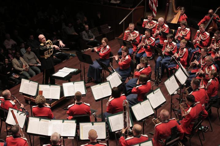 photo of United States Marine Band