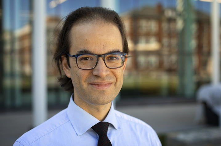 photo of Assistant Professor Ramsi Woodcock of the UK College of Law