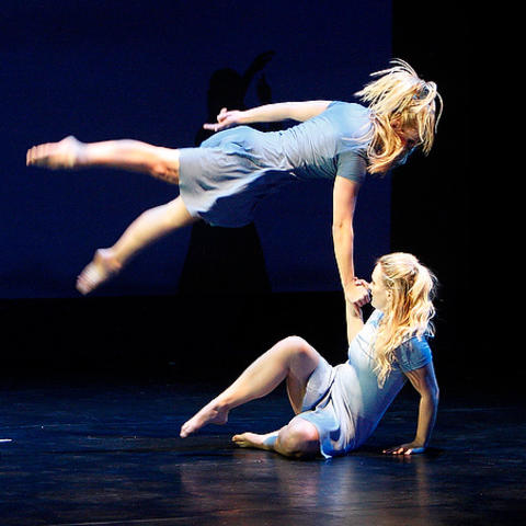 photo of dancers performing from UK Dance Program