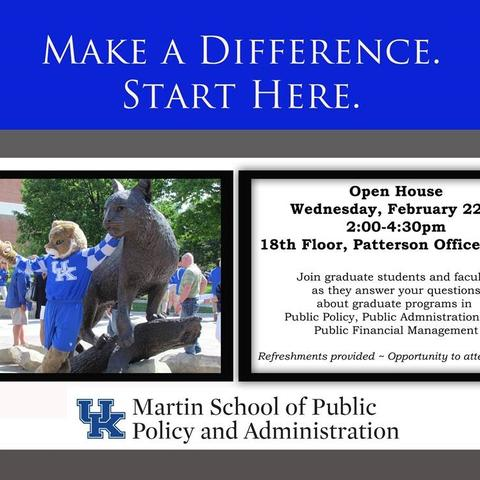 Martin School Open House - graphic