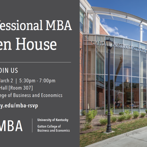 Professional MBA Open House - graphic