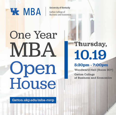 UK One Year MBA Open House