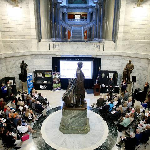 2017 Celebration Event in the Capitol Rotunda.