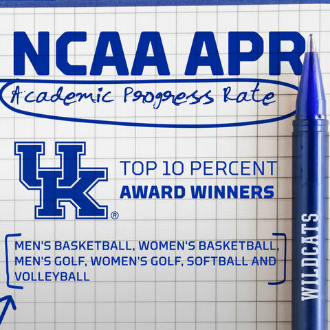 photo of UK Athletics APR graphic