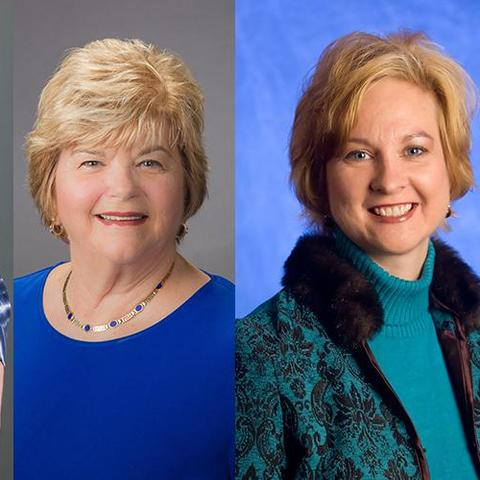 Left to right, Marilyn Edwards-Barrick, Gerri Miracle, and Amy VanMeter.