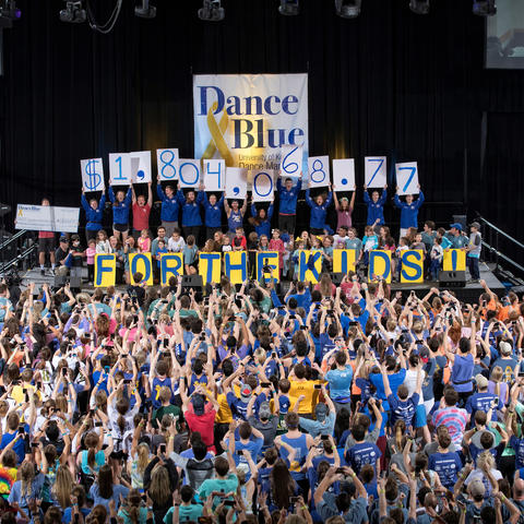 photo of DanceBlue 2018 total reveal