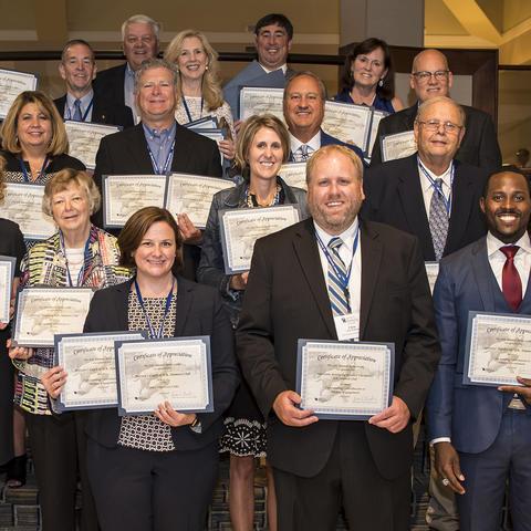 UK Alumni Association's 2018 Service Awards. Photo by Tim Webb.