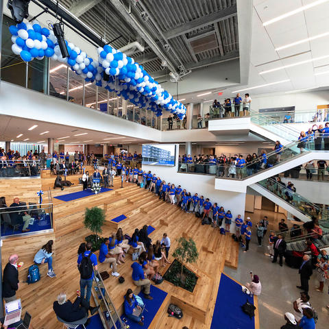 photo of Gatton Student Center atrium
