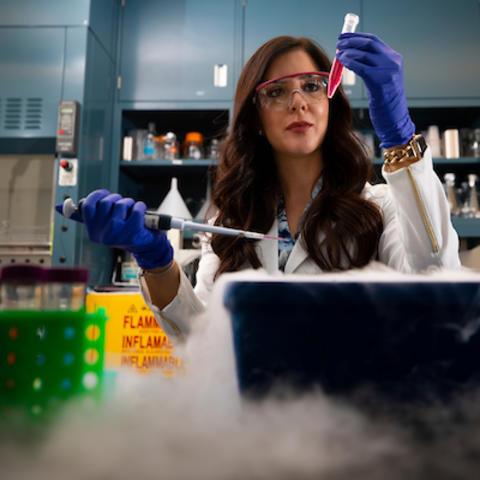Women working in a lab.
