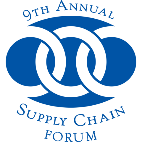 photo of 9th annual Supply Chain Forum logo