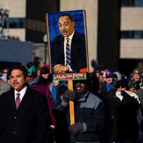 2019 MLK Day Freedom march.