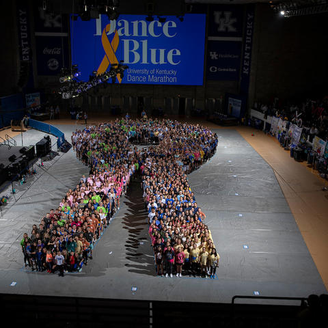 DanceBlue participants. Mark Cornelison | UK Photo.