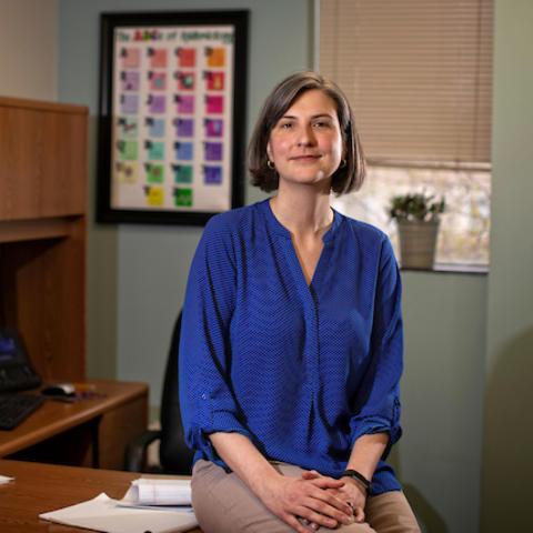 Photo of Erin Abner, University of Kentucky