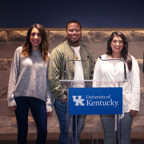 photo of May 2019 student commencement speakers